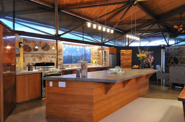 Modern, open kitchen designed for entertaining